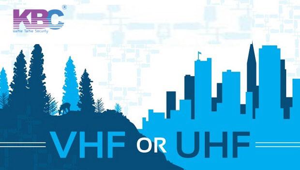 Tìm hiểu băng tần sóng máy bộ đàm VHF và máy bộ đàm UHF