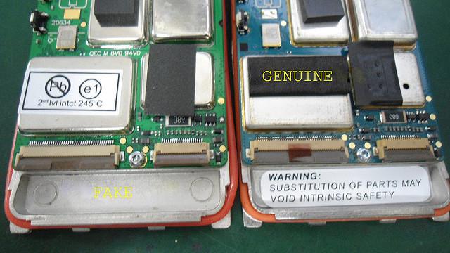 Nhận biết máy bộ đàm xin và bộ đàm nhái Motorola GP328