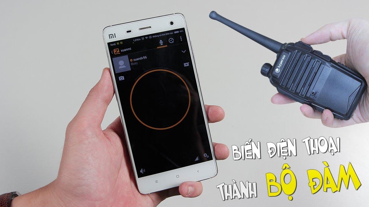 Biến điện thoại IPhone thành bộ đàm với các app bộ đàm cho iphone