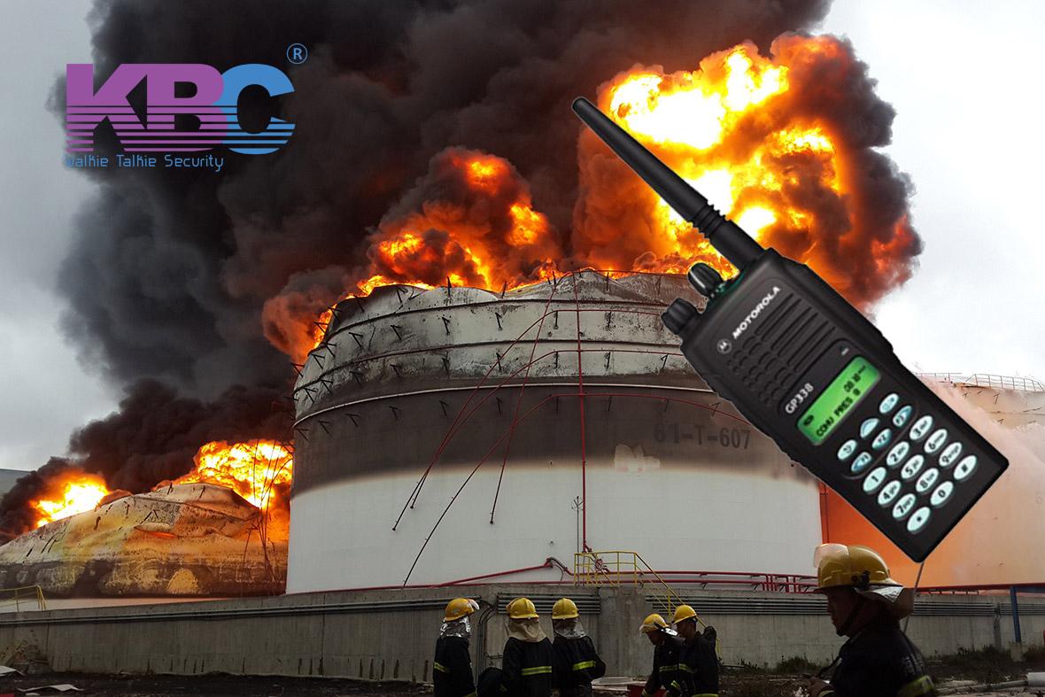 Máy bộ đàm chống cháy nổ thế nào mới đạt chuẩn
