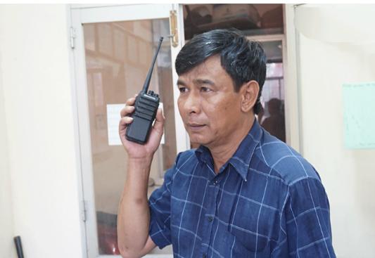 Công an tỉnh Long An đầu tư bộ đàm giúp trấn áp tội phạm