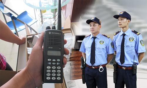 TOp 5 bộ đàm an ninh dành cho ngành bảo vệ