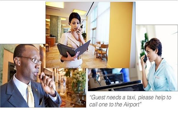 Kĩ năng sử dụng máy bộ đàm cầm tay dành cho nhân viên khách sạn