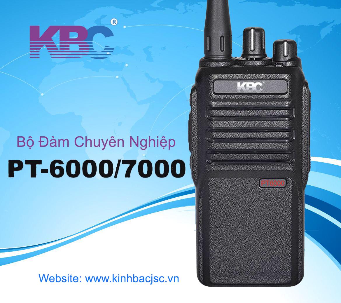 So sánh máy bộ đàm cầm tay KBC PT-7000 và Kenwood TK3000