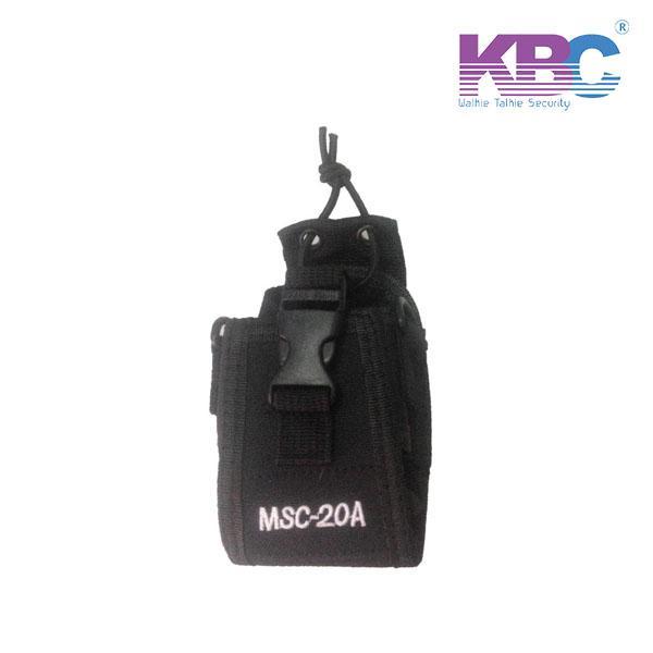 Bao Đựng Bộ Đàm MSC-20A,  Bao da chống nước bộ đàm giá rẻ