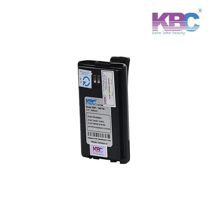 Pin bộ đàm KBP - 168/186, Pin bộ đàm Li-on chất lượng cao lâu dài