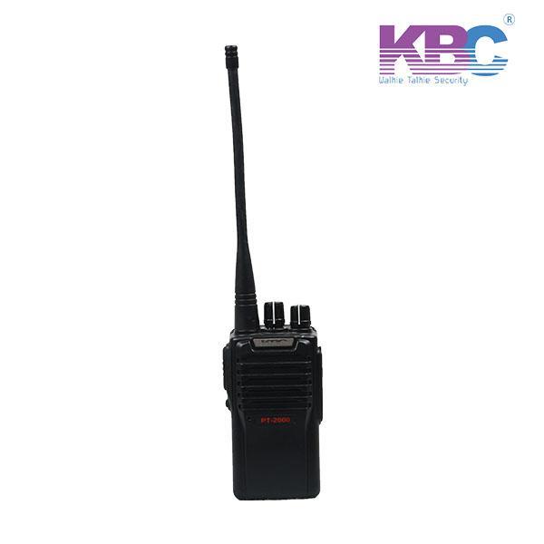 Máy bộ đàm cầm tay KBC PT2000 chính hãng giá rẻ tại KBC