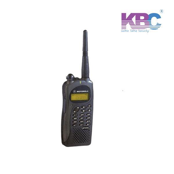 Máy Bộ Đàm Cầm Tay Motorola GP 2000, Máy bộ đàm Motorola cho bảo vệ an ninh